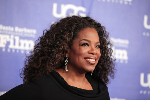 Oprah seems to be a perfect example of someone who's successful and happy.
